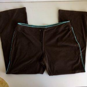 tek gear Pants - Ten Gear Pants Brown With Blue Trim Size XL 3/$30